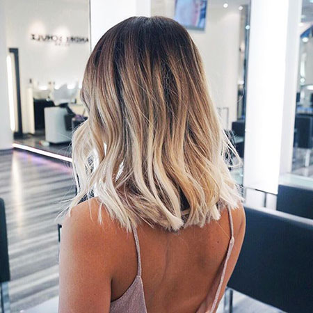 Short Ombre Hairtyle, Hair Blonde Ombre Short