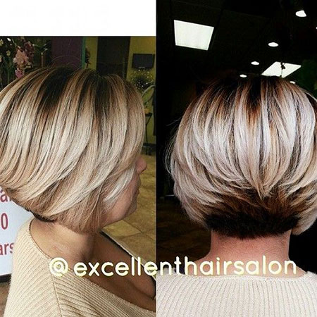 Short Bob Hair Blonde