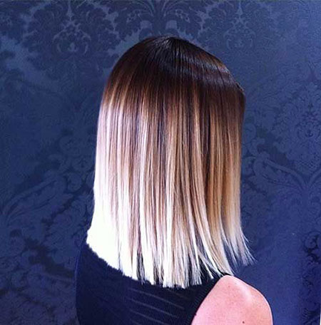 Hair Short Blonde Platinum