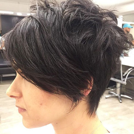 Pixie Short Bob Side