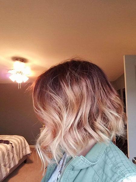 Rose Gold Blonde Ombre, Hair Ombre Blonde Rose