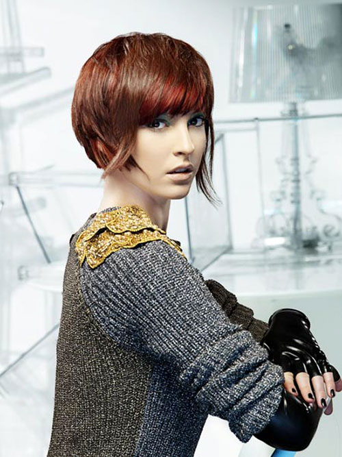 Hair color trends 2013 for short hair