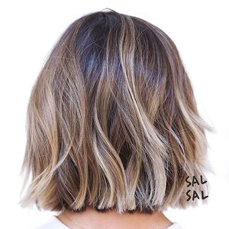 Light Brown Balayage Bob, Balayage Hair Short Brown