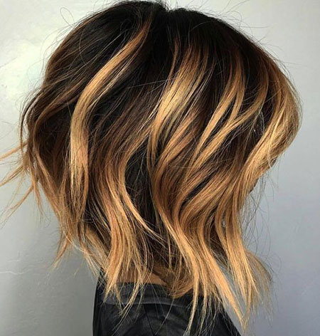 Balayage Hair Bob Short