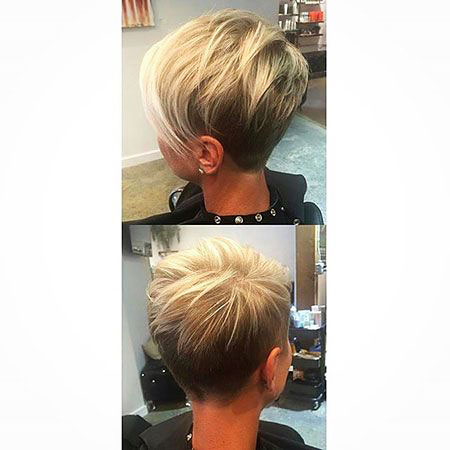 Pixie Short Undercut Hair