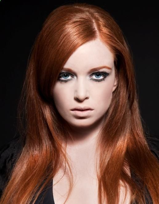 Amazing Long Copper Red Hairstyle (3)