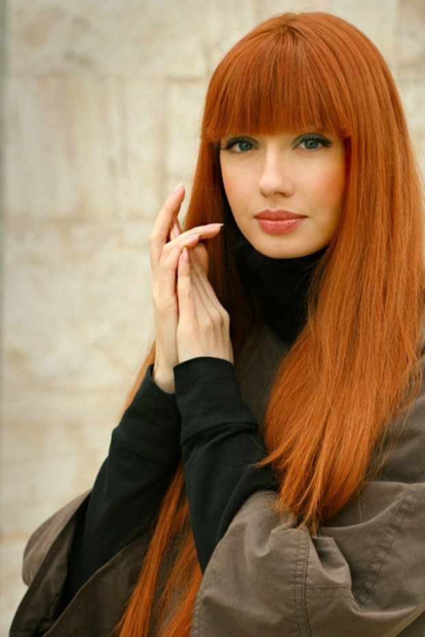 Amazing Long Copper Red Hairstyle (5)
