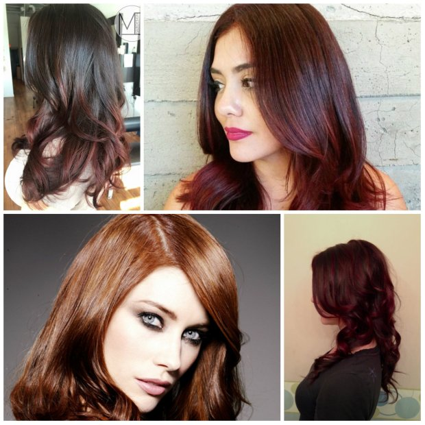 Auburn Hair Colors For 2017