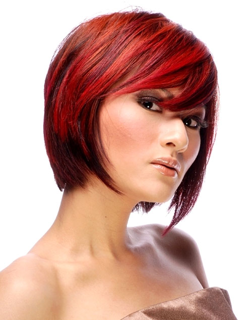 Bold hair color ideas for short hair
