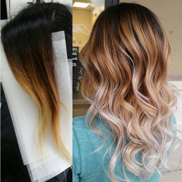 Gorgeous Ombre Balayage Hairstyles Balayage Highlights Medium Long Wavy Hair Styles