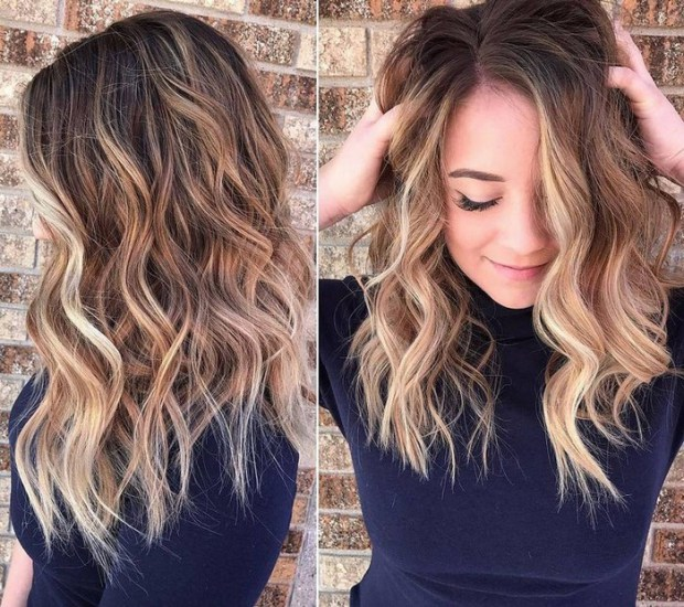 Hairstyles Trends Ombre Balayage Highlights