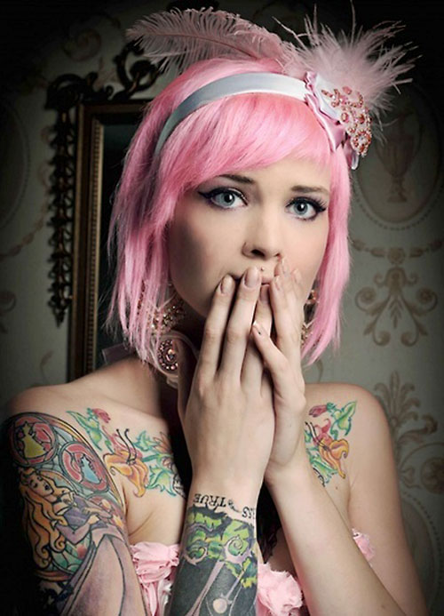Best pink hair color pictures