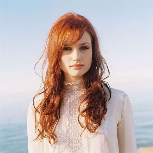 Long Red Hair With Bangs
