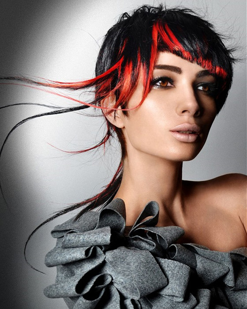 Short Red Hair Color Ideas 2012