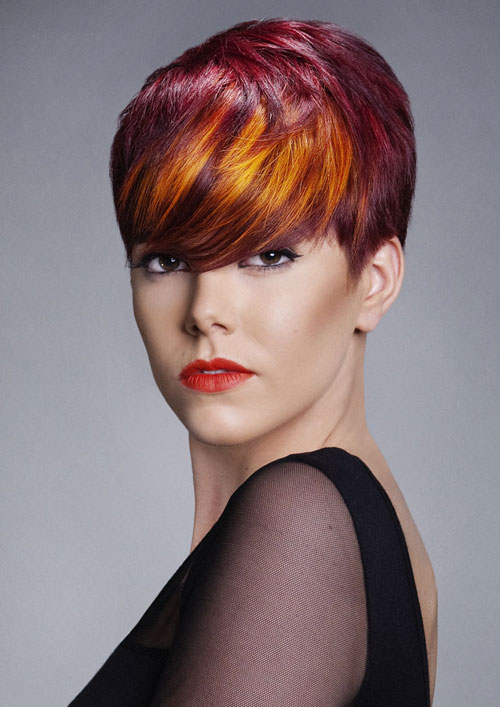 Best red hair color for dark hair