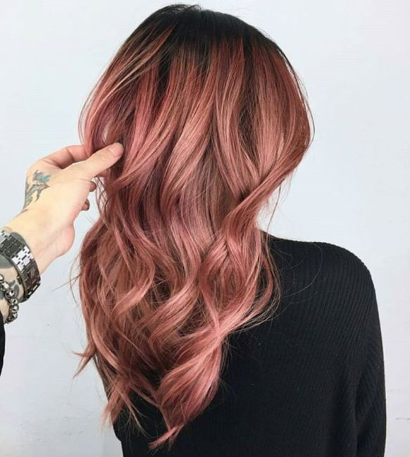 Rose Gold Hair Color Ideas To Die For (11)