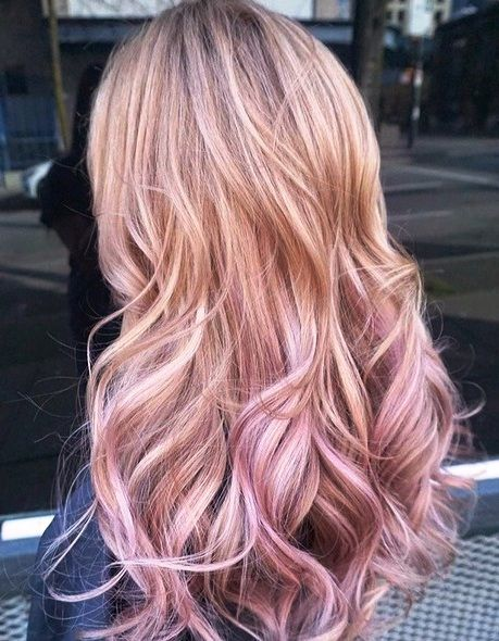 Rose Gold Hair Color Ideas To Die For (12)