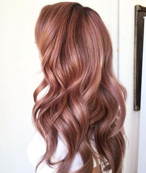 Rose Gold Hair Color Ideas To Die For (3)
