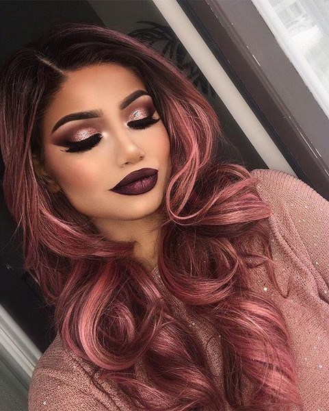 Rose Gold Hair Color Ideas To Die For (5)