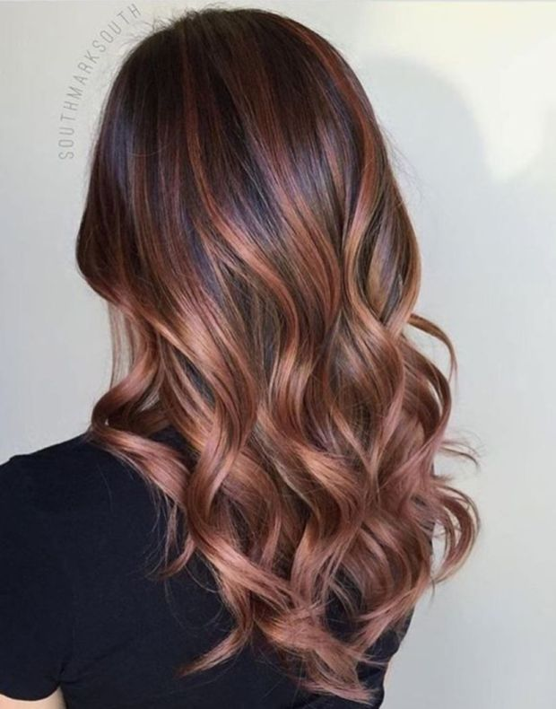 Rose Gold Hair Color Ideas To Die For (7)