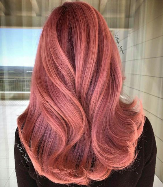 Rose Gold Hair Color Ideas To Die For (8)