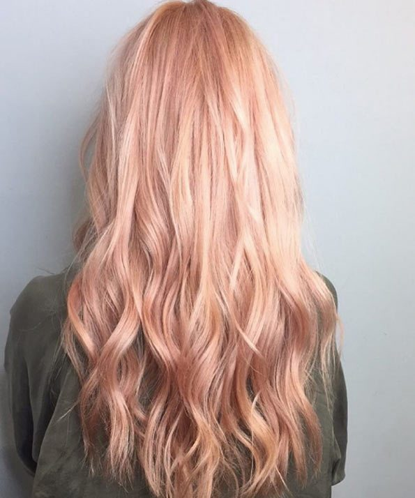 Rose Gold Hair Color Ideas To Die For (9)