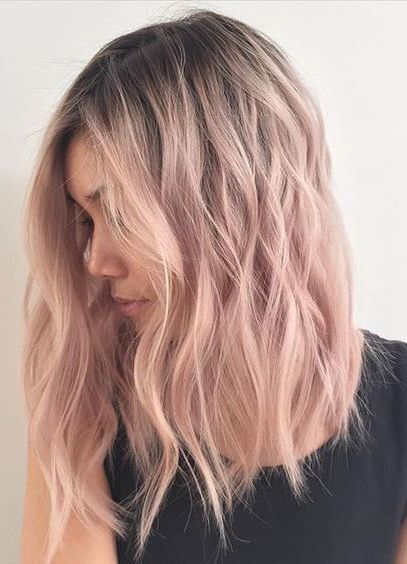 Rose Gold Hair Color Ideas To Die For