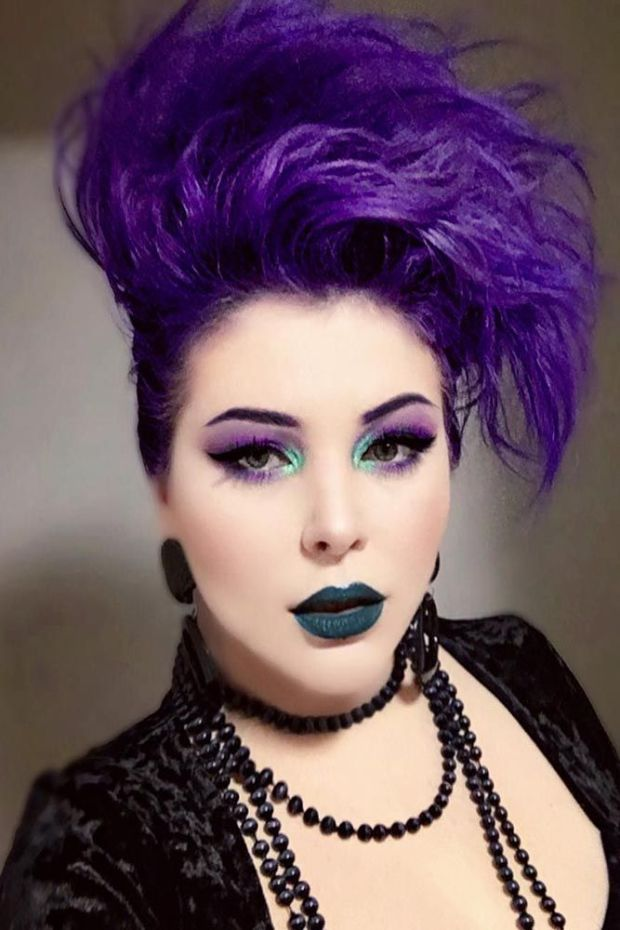 Super Bright Emo Hair Ideas (11)