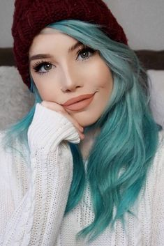 Super Bright Emo Hair Ideas (8)