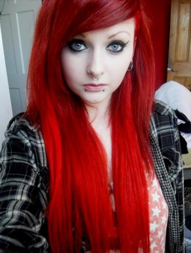 Super Bright Emo Hair Ideas (9)