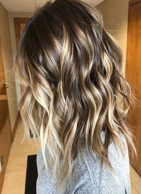 Winter Spring Hairstyles Ideas 2018 Balayage High Lights
