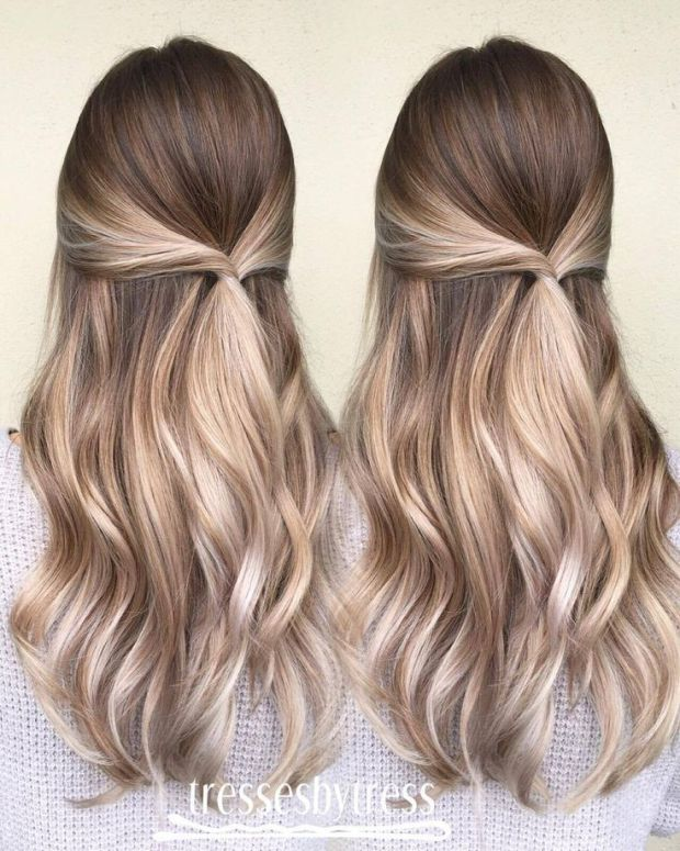 Balayage Hairstyles Balayage Hair Color Ideas With Blonde Brown Caramel Red (2)