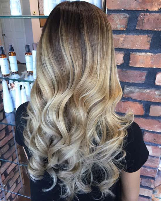 Balayage Hairstyles Balayage Hair Color Ideas With Blonde Brown Caramel Red (3)