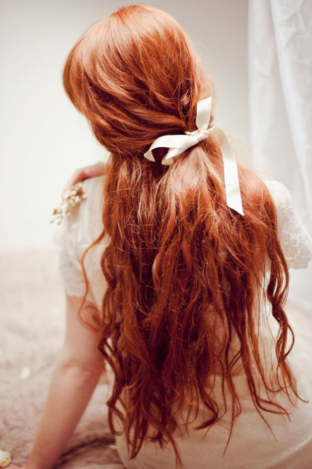 Long Red Hair Long Copper Red Hair