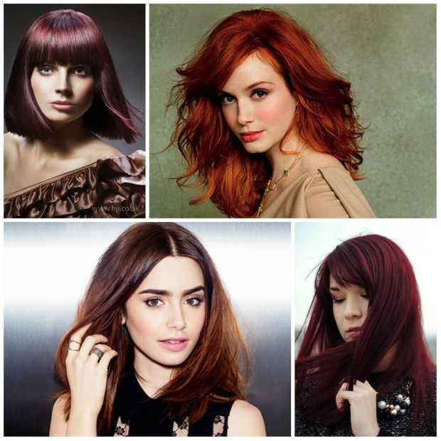 Red Hair Colors 2017