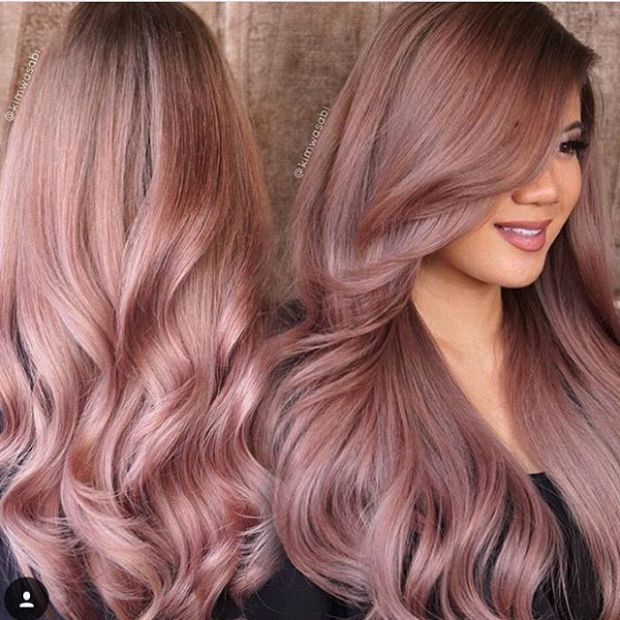 Rose Gold Hair Color 25 Beautiful Rose Gold Hair Colour Ideas On Pinterest Rose Amazing