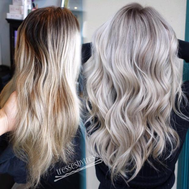 Stylish Platinum Blonde Hair Styles Hair Color Ideas 3