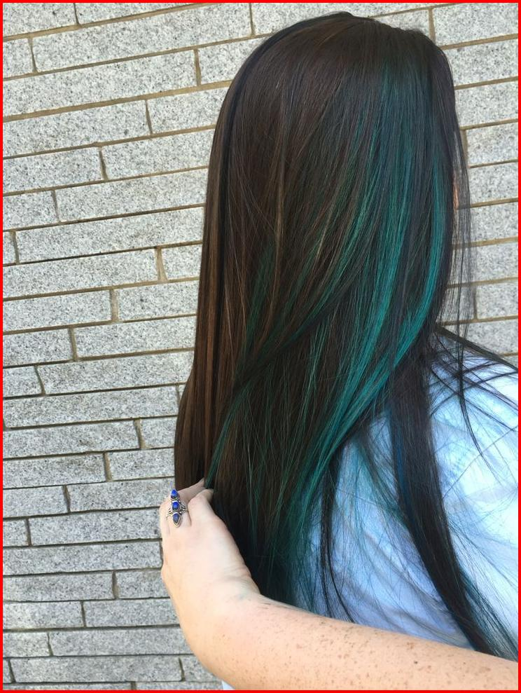 50 Blue Hair Highlights Ideas Hair Colour Style