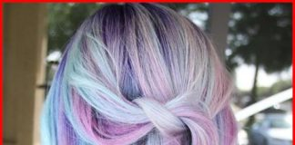 Blue Purple Hair Color Ideas
