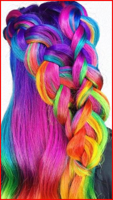 Image result for crazy hair dye