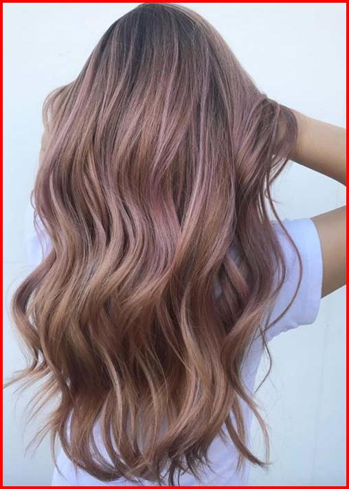 Rose Gold Ombre Hair Color Ideas Hair Colour Style