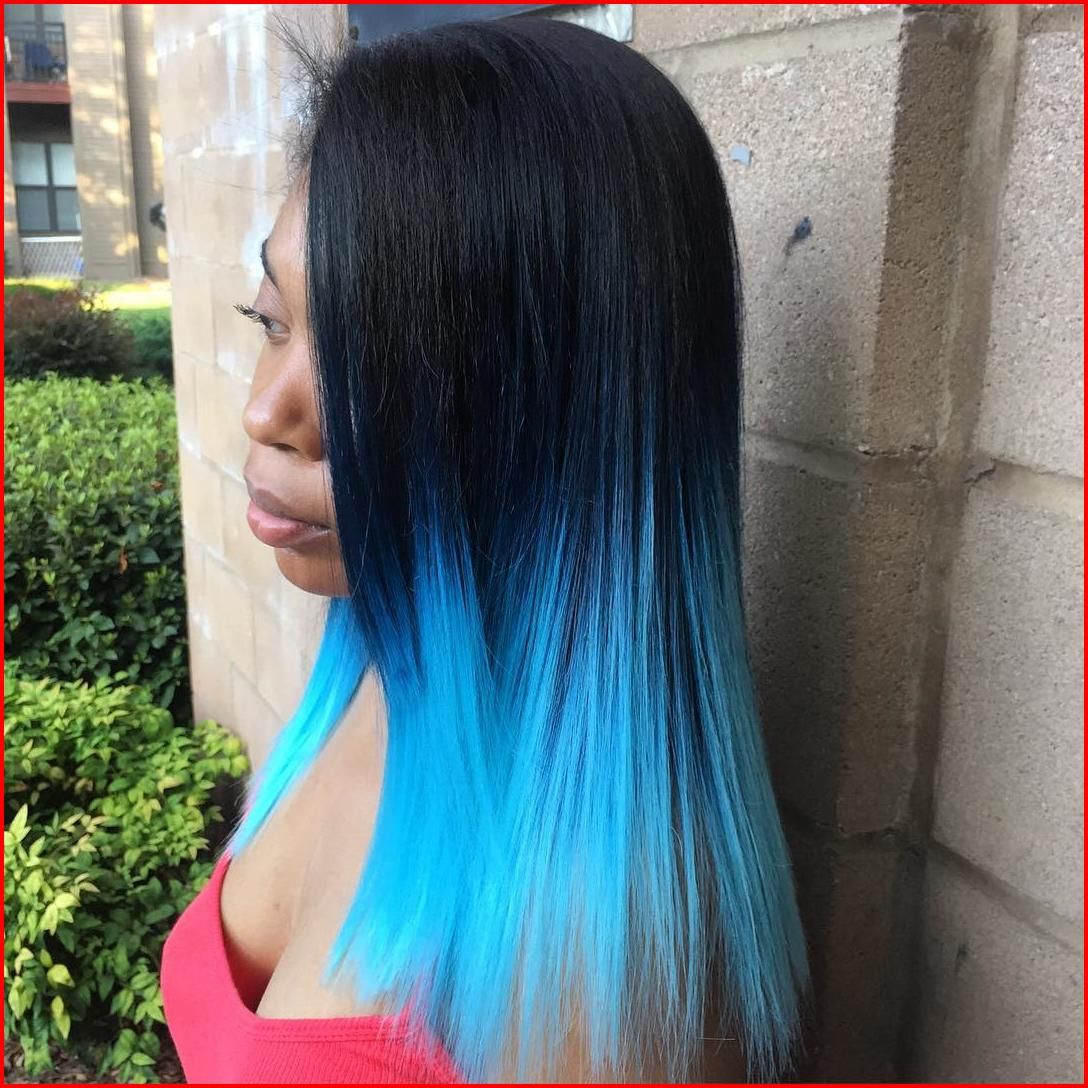Turquoise Blue Ombre Hair Color Hair Colour Style