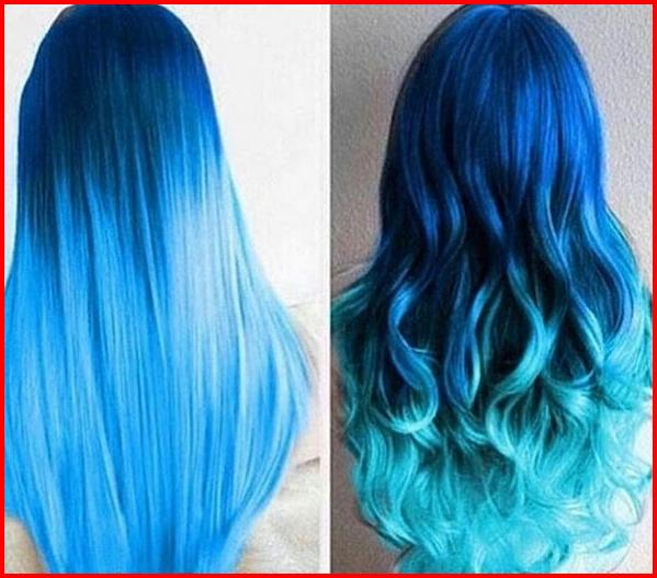 362aebd8b Blue ombre hair looks especially stunning and ensures ...