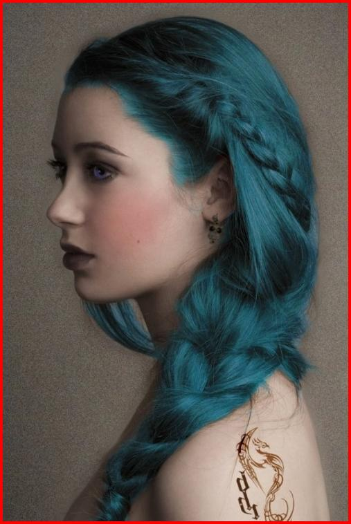 Turquoise Green Hair Color Hair Colour Style