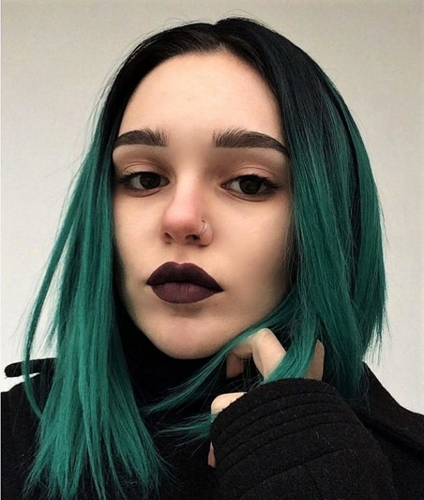 50 Green Hair Colour Ideas You Will Love.