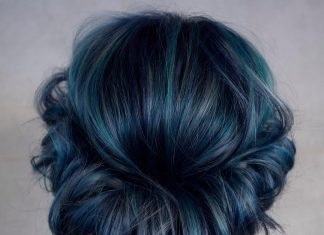 20 Blue Hair Color Ideas for Dark Hair.