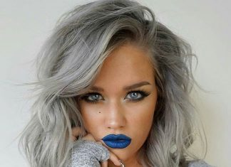 Silver Gray Hair Color Ideas