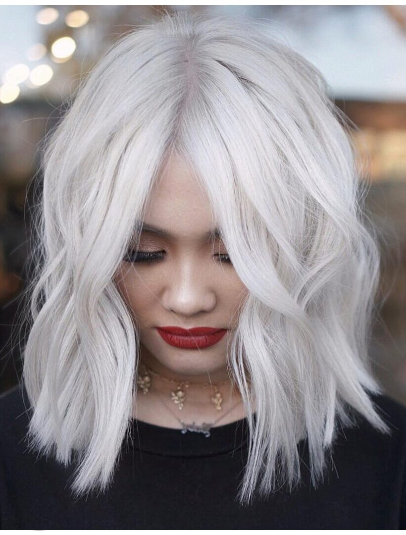 60 Stunning Platinum Blonde Hair Color Inspirations For
