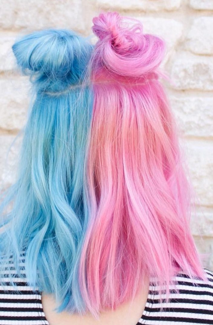 25 Pastel Blue Hair Color Ideas Hair Options To Try In