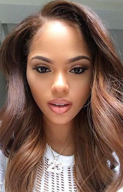 37 Hair Colour Trends 2019 For Dark Skin That Make You Look